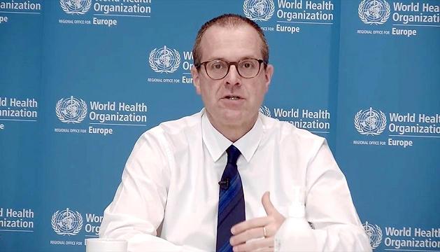 El director regional de l'OMS per a Europa, Hans Henri P. Kluge.