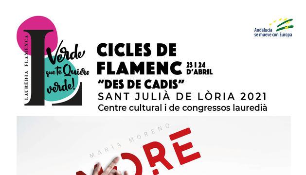 María Moreno és punta de llança de les generacions actuals del flamenc.