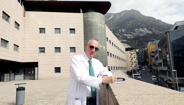 El cap de Salut Mental, Joan Escoter, va renunciar al càrrec dimarts.
