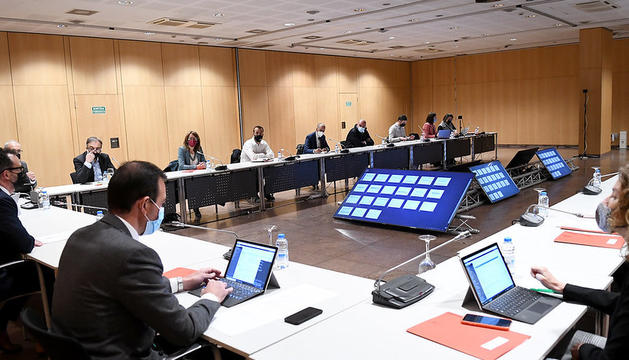 La Comissió Nacional de l'Habitatge s'ha celebrat aquest matí al Centre de Congressos d'Andorra la Vella