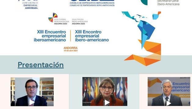 La Trobada Empresarial es celebra dins de la Cimera Iberoamericana