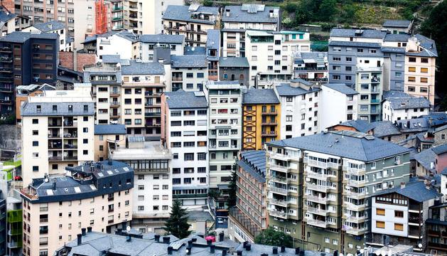 Pisos al centre d'Andorra la Vella.