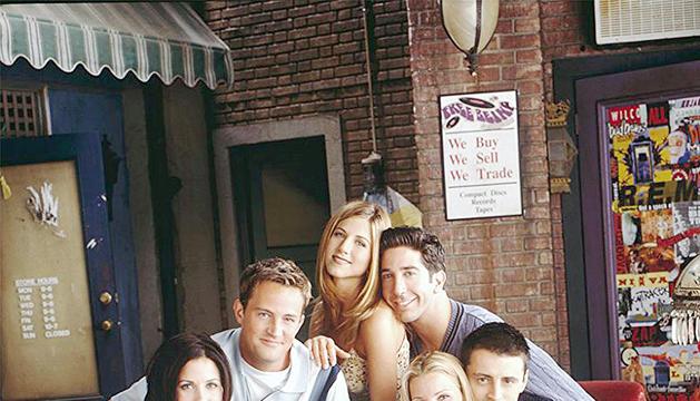 Culmina la gravació del retrobament de 'Friends'