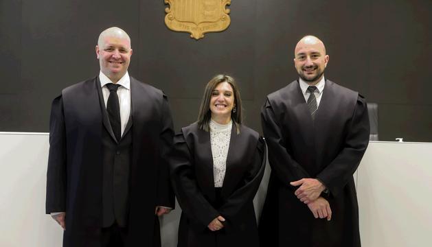 Eduard Canut, Cristina Martinez i Joan Carles Moynat són els tres batlles nous