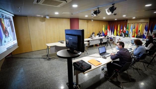 La reunió de coordinadors nacionals i responsables de cooperació.