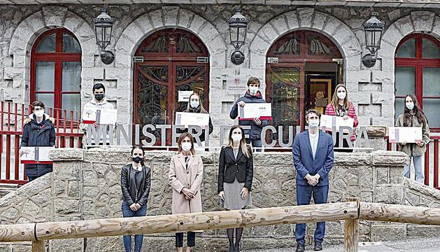 Guillem Estany i Helena Marsol, guanyadors del dictat