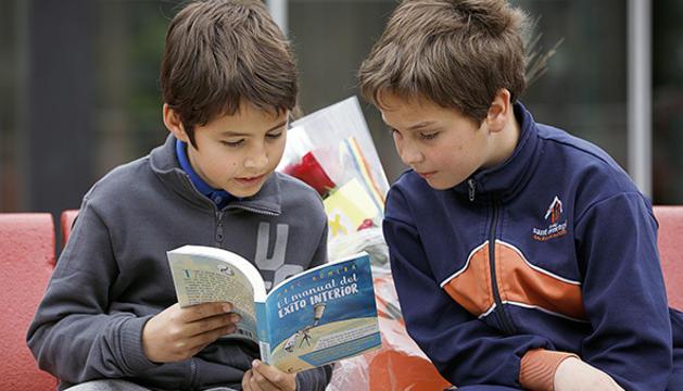 Sant Jordi, una oportunitat per descobrir el món dels llibres.