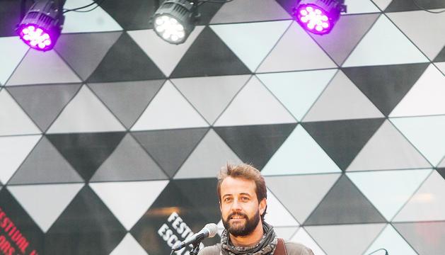 El cantautor Quim Salvat participarà en un recital a l'Auditori Nacional.