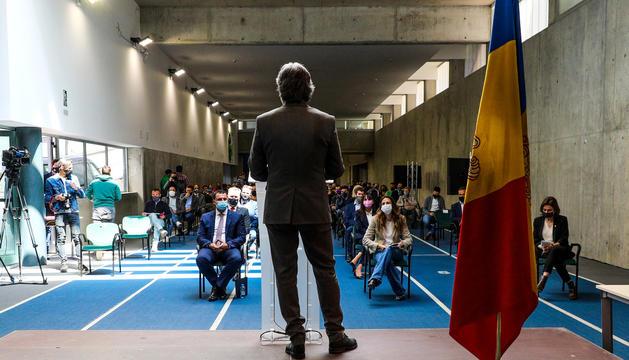 L'acte es va celebrar ahir al Centre de Tecnificació d'Ordino.