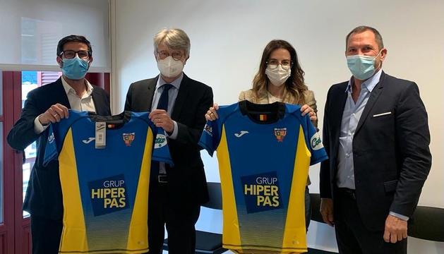 Trobada de la ministra Sílvia Riba amb el VPC Andorra