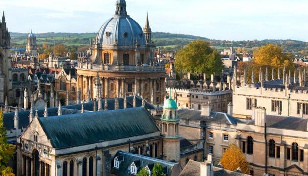 Els emblemàtics edificis de la Universitat d'Oxford.