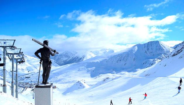 Una imatge del domini esquiable de Grandvalira.