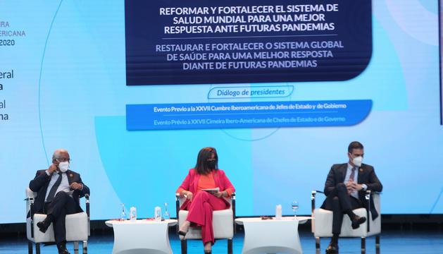 António Costa i Pedro Sánchez, en la trobada prèvia a la Cimera.