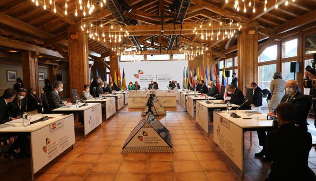 Acte central de la Cimera Iberoamericana a Soldeu