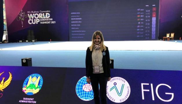 Fiona Pallarés, Jutge de referència al mundial