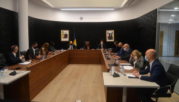Sessió del consell de comú d'ahir.