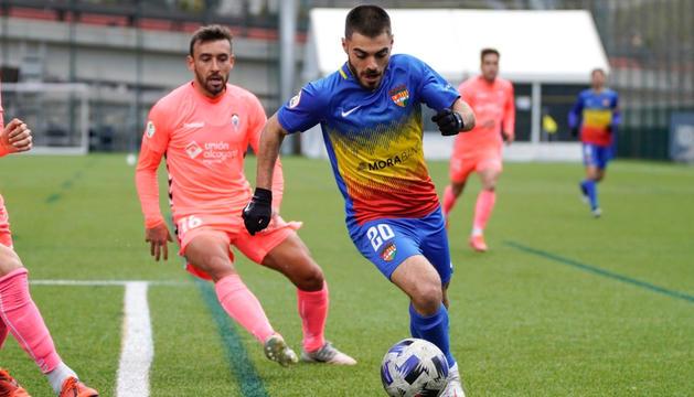 Martí Vilà, jugador de l'Andorra.