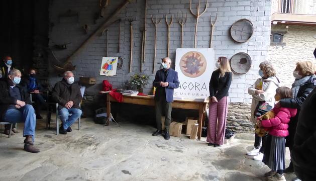 Presentació ahir a Casa Colat a la Massana