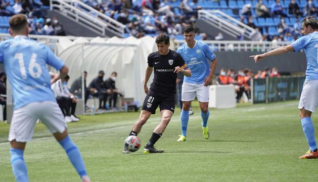 Rubén Bover ha estat l'autor del gol tricolor