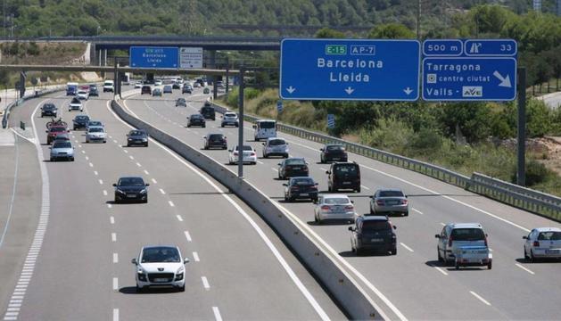 Una autopista espanyola.