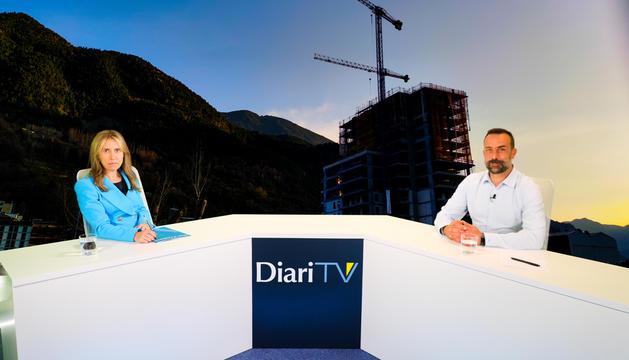 El president executiu del Grup Heracles, Daniel Armengol, durant l'entrevista.