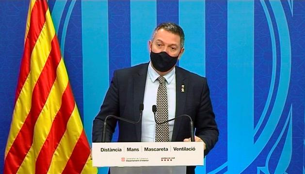 El conseller d'Interior català, Miquel Sàmper.