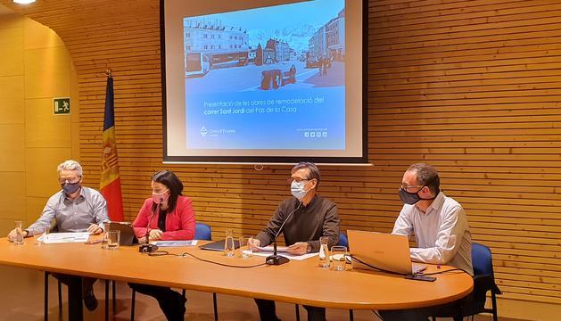 Laura Mas ha presentat la reforma al Pas de la Casa