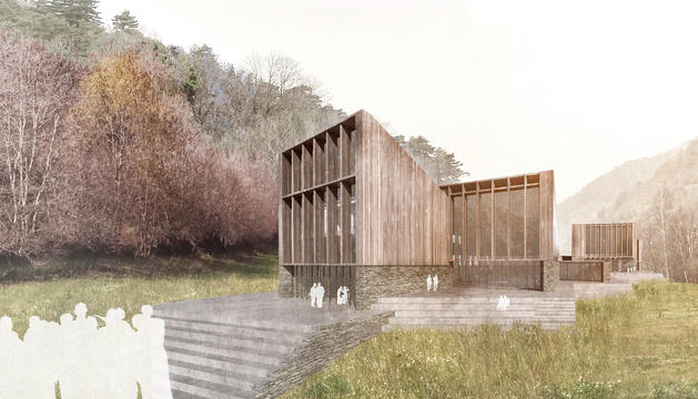 El futur centre de recerca d'Ordino