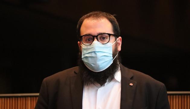 El conseller general socialdemòcrata, Carles Sánchez