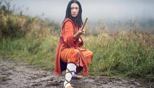 Olivia Liang en un moment de la nova sèrie 'Kung Fu'.