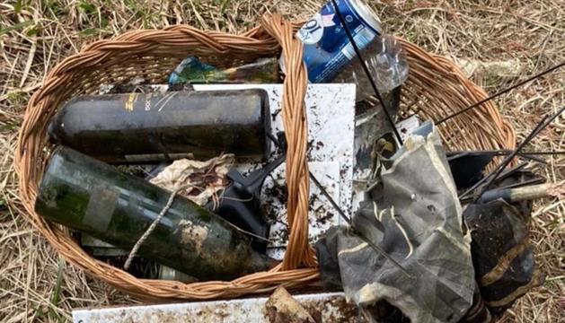 L'APAPMA denúncia la quantitat de deixalles a la Carretera de la Rabassa