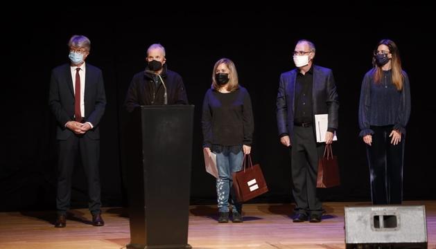 L'entrega de premis ahir a l'Auditori Nacional.