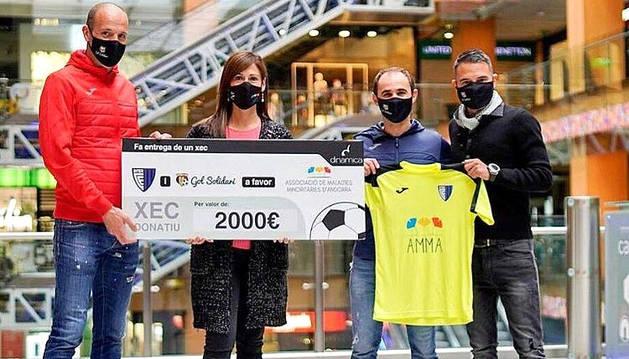 Gol Solidari dona 2.000 euros a l'AAMA