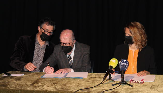 El moment de la signatura