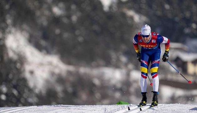 Irineu Esteve, en una imatge del Mundial, creu que podia haver-ho fet millor que l'any passat.