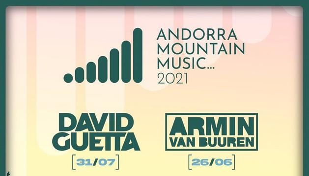 El cartell de l'Andorra Mountain Music