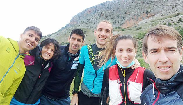 L'equip nacional desplaçat a Mágina (Jaén) va inspeccionar el circuit dijous.