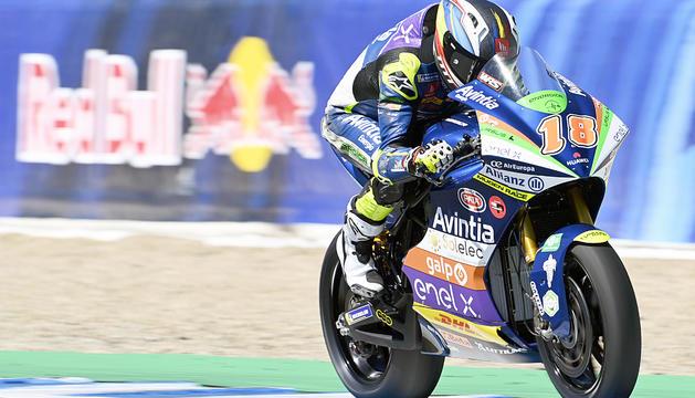 La sort no va acompanyar Xavi Cardelús a Jerez.
