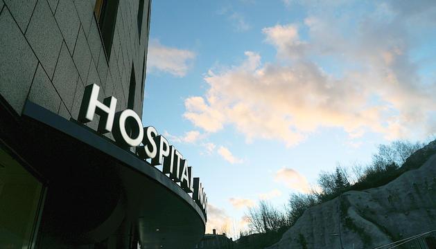 L'exterior de l'hospital Nostra Senyora de Meritxell.