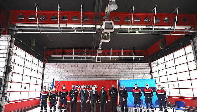 Graduada la 34a promoció d'agents de Bombers