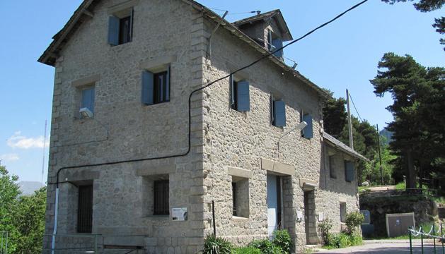 La casa dels guardes d'Engolasters