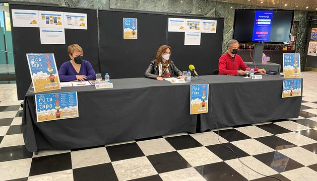 Presentació de la Ruta de la tapa al Centre Cultural i de Congressos Lauredià.