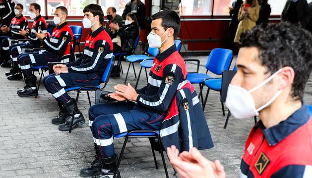 Treball per reestructurar el cos de bombers