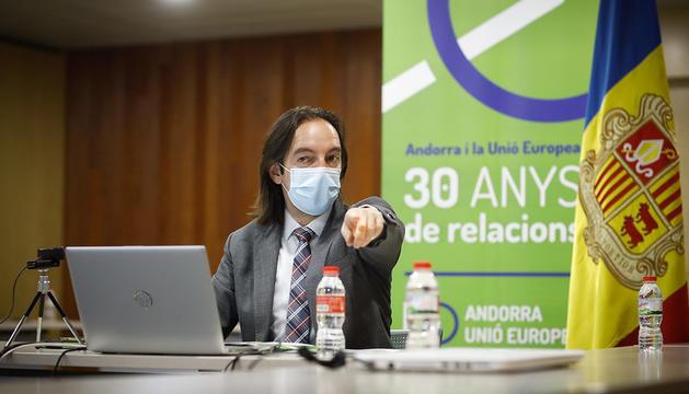Roda de Negociació Virtual de l'Unió Europea i Andorra