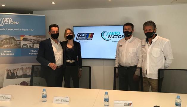 La Federació Andorrana d'Esquí ha tancat un acord de patrocini amb Auto Factoria
