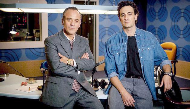 Javier Gutiérrez i Miki Esparbé a 'Reyes de la noche', a partir del 14 de maig a Movistar+.