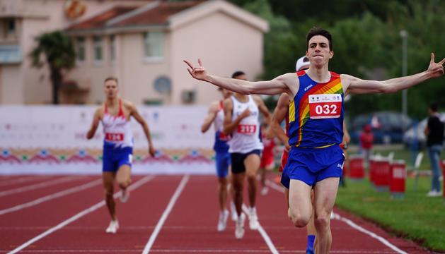 El Comitè Olímpic Andorrà ha demanat vacunar Pol Moya per als Jocs de Tòquio.