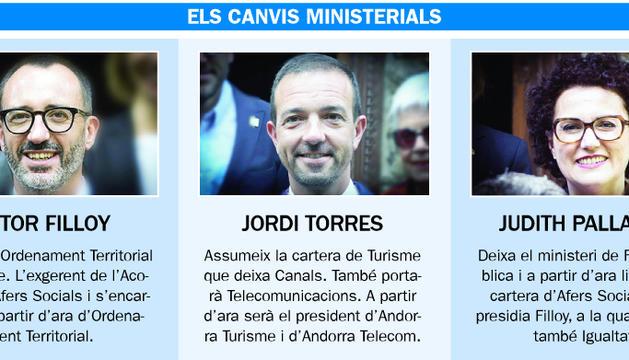 Marín entra a Govern