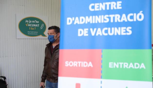 Vacunació a la plaça de braus
