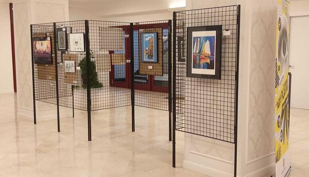 L'antic Hotel Rosaleda acull les 27 obres del Concurs d'Arts Plàstiques per a Joves des d'avui dilluns 10 de maig fins al dijous 20 de maig